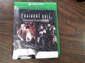 MICROSOFT Microsoft XBOX One Game RESIDENT EVIL ORIGINS COLLECTION